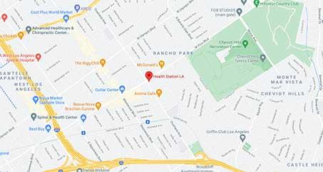 Chiropractic Health Station LA map